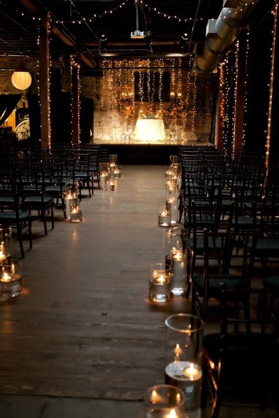 Candle Light for weddings in Edmonton