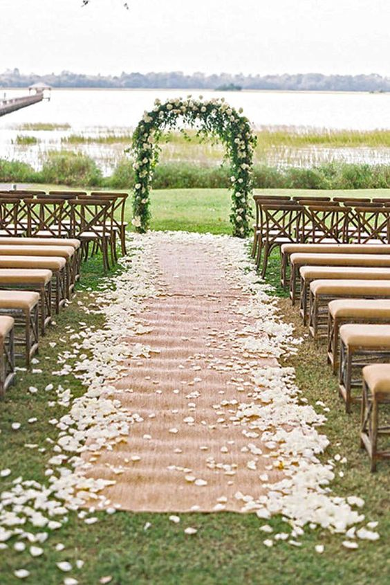 Burlap Decorations for weddings in Edmonton